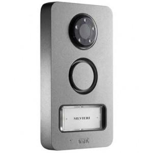 MIKRA opbouw Z/W video deurpost met 1 of 2 toetsen