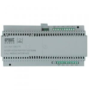 Interface voor max. 4 video / audio deurplaten