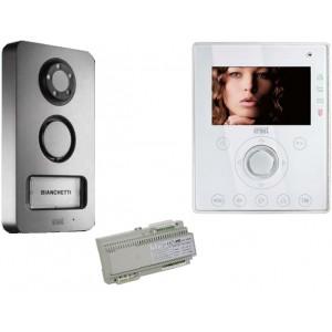 Mini Note Videokit 1 toets, Mikra - Aiko kleur | 2 draadsysteem
