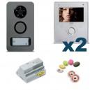 Kit Note | Videofoon kit 1 toets met toegangscontrole