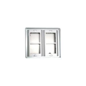 Opbouwdoos  4 modulen (2x2)